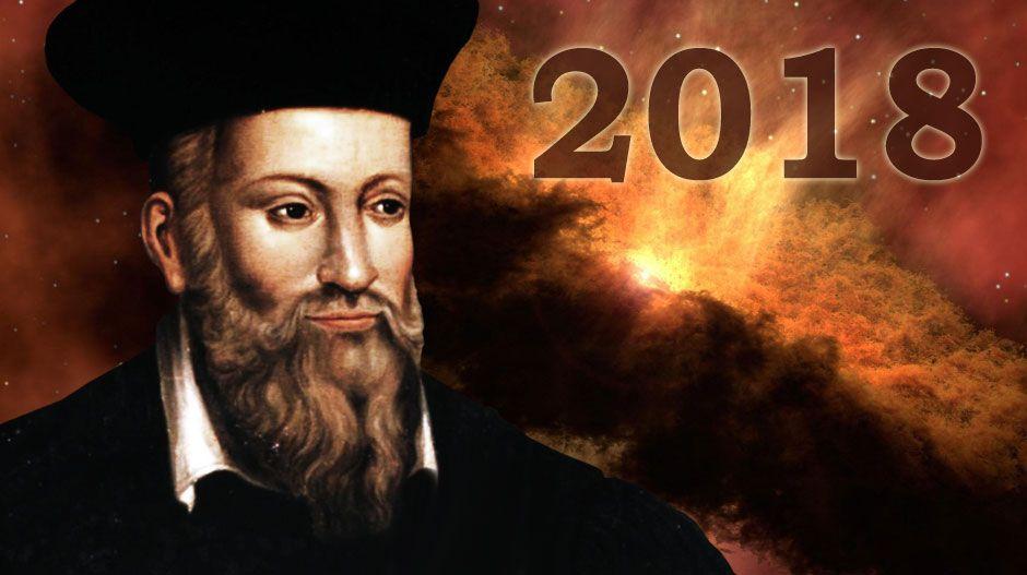 prédictions de Nostradamus pour 2018