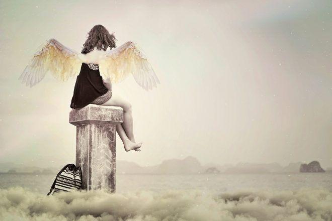 ange dans un corps humain