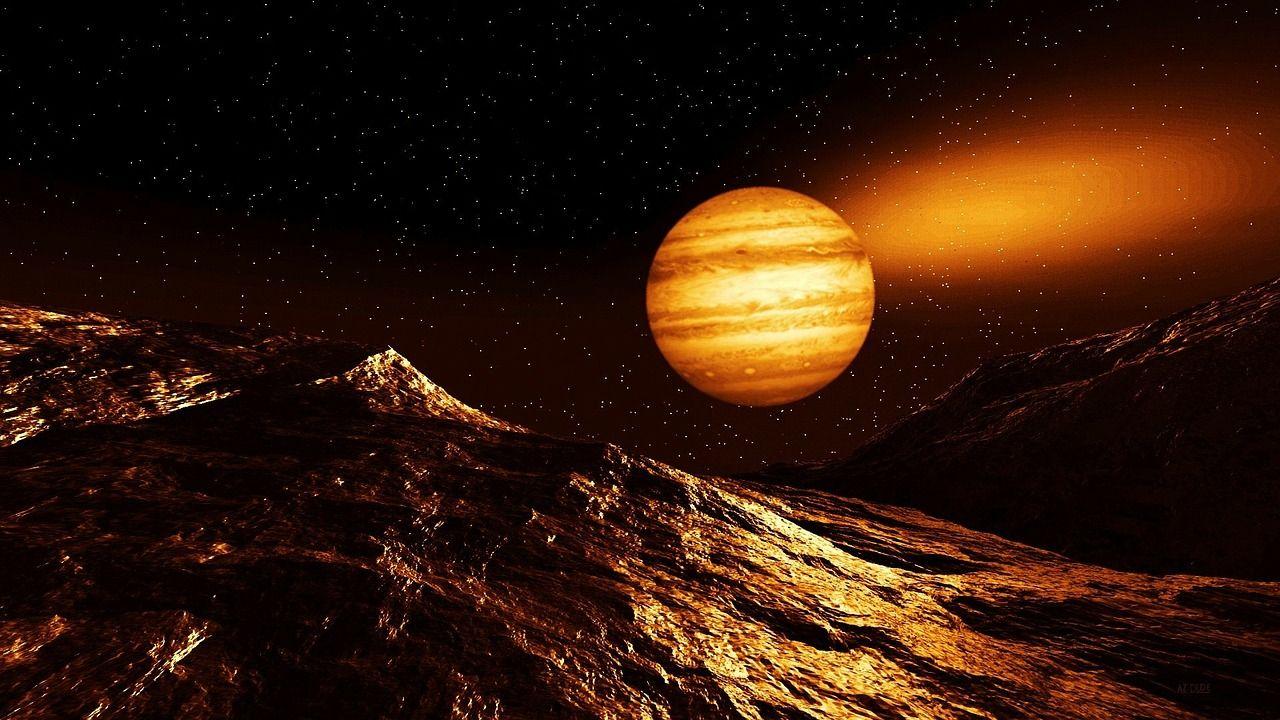 alignement de Mars et Jupiter