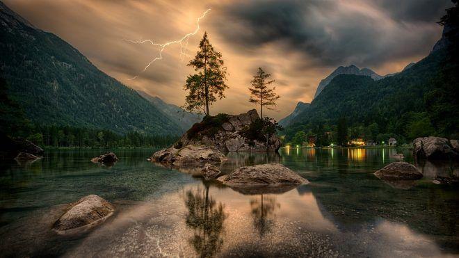 pouvoir de guérison de la nature