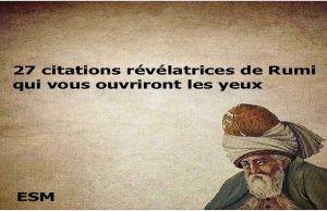 citations révélatrices de Rumi