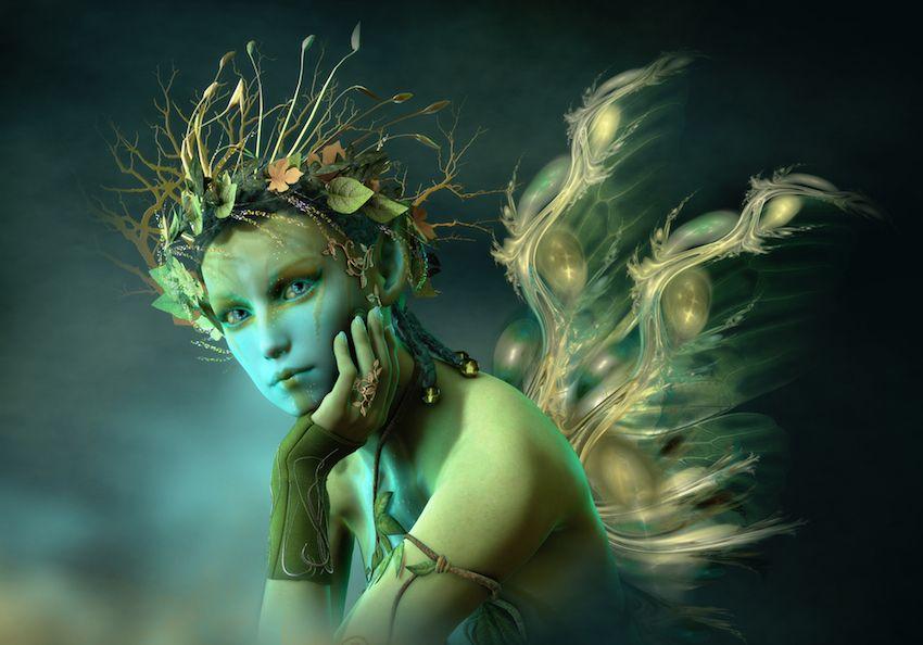 contemplation de la beauté de l'âme