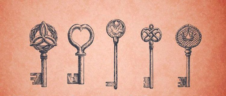 Choisissez la clé qui vous attire le plus et débloquez votre magie ...