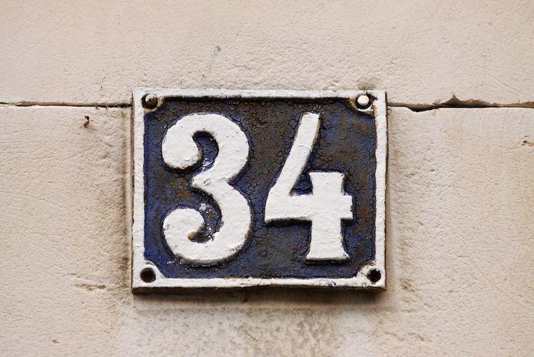 signification  numéro maison
