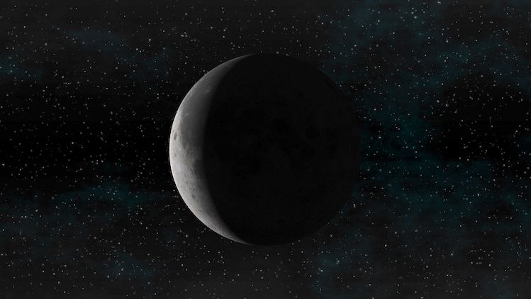 Nouvelle lune du 7 décembre 2018 la dernière de l'année