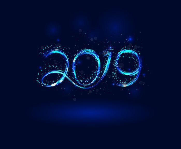 Nouvelle année 2019 en numérologie
