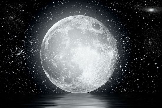 Super Lune en Vierge