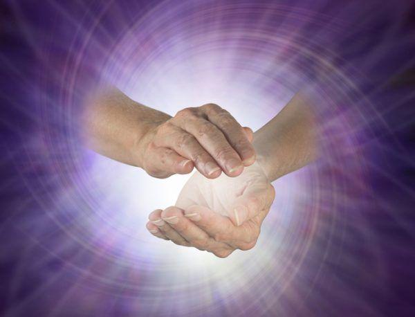 guérison par les mains
