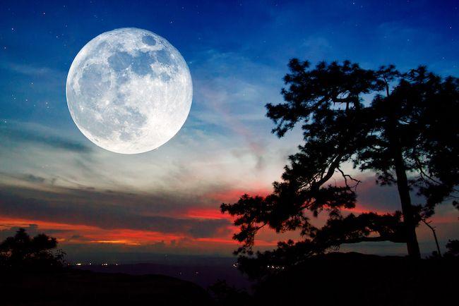 super lune en Balance