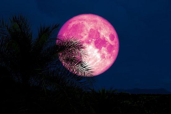 pleine lune la plus intense