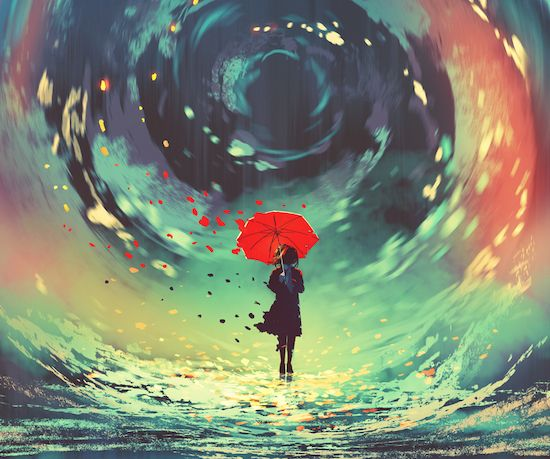 submergé par les émotions
