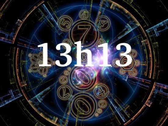 Siignification complète de l'heure miroir 13h13