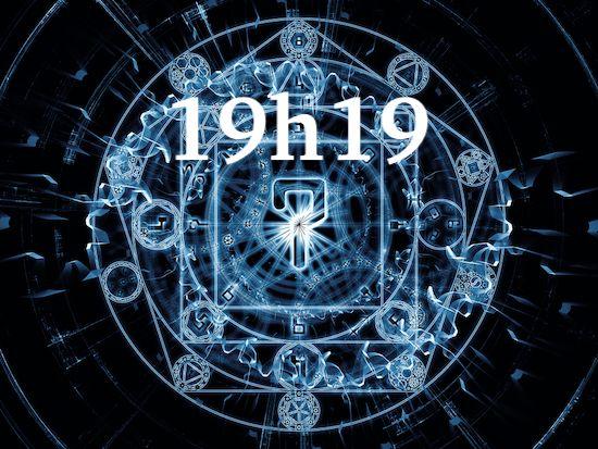 19H19 : signification complète et précise de cette heure miroir