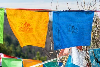 symboles sacrés : Dhvaja