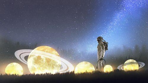 Univers pour communiquer avec vous