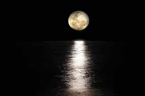 Pleine lune du 15 août