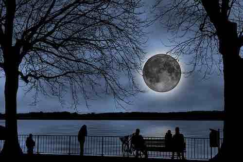 pleine lune du 15 août 2019 affectera le plus