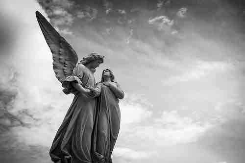 anges gardiens sont près de vous