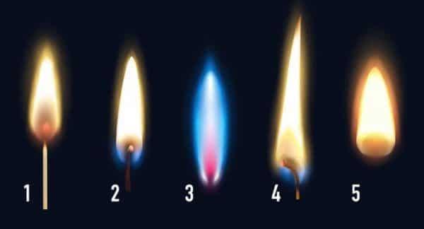 Choisissez une flamme