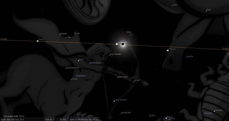 Eclipse solaire du 26 décembre 2019