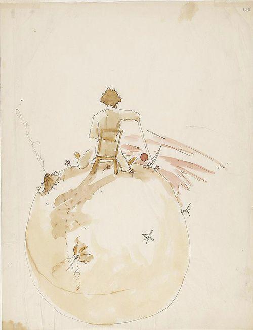 Petit Prince aquarelles