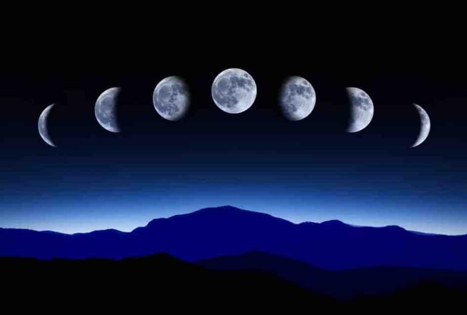 Phases de Lune pour 2021. Dates, heures et distances. | Esprit