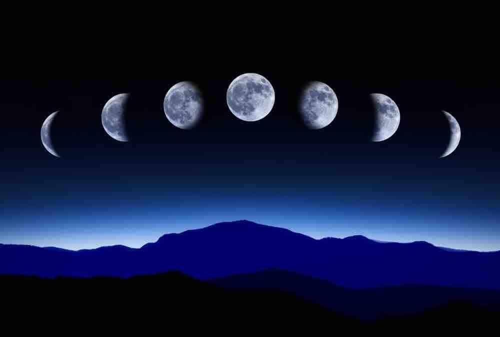 Phases de Lune pour 2021
