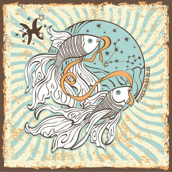 Poissons zodiaque