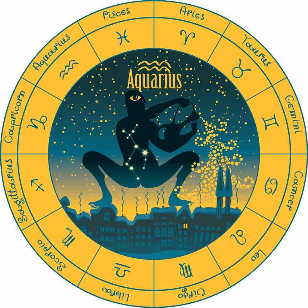 Verseau zodiaque