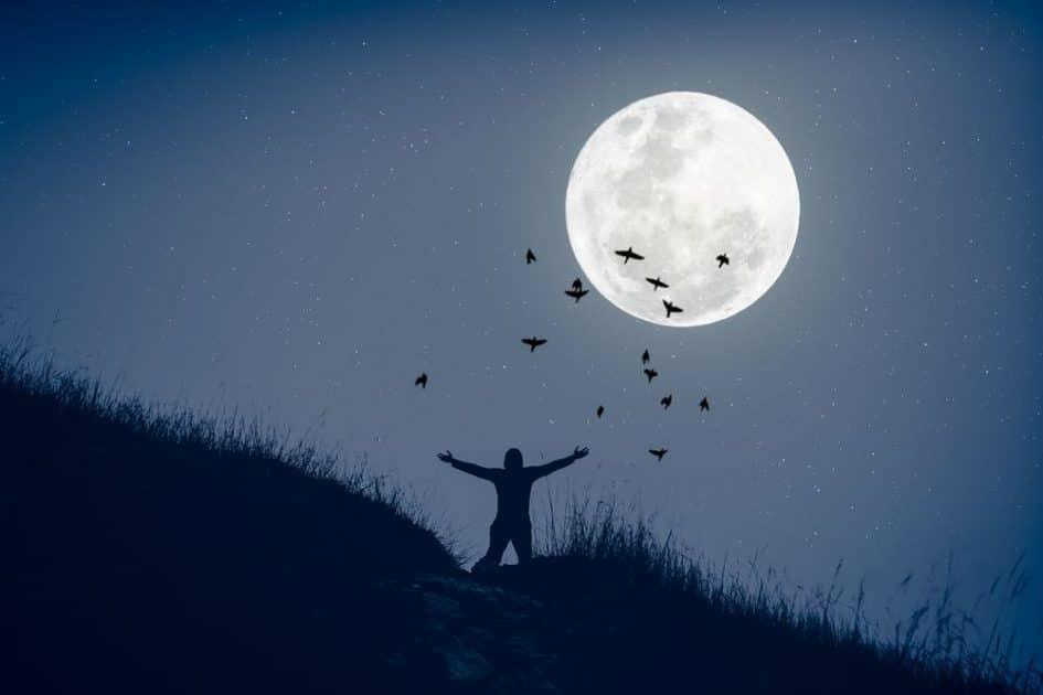 Super Lune des Fleurs de mai 2020