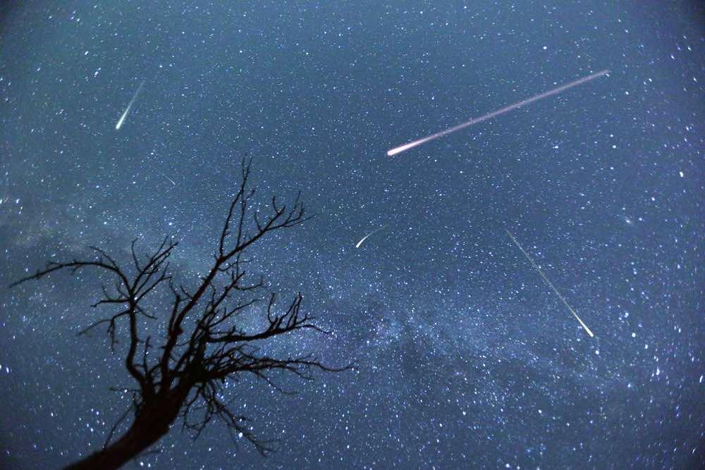météores aquarides