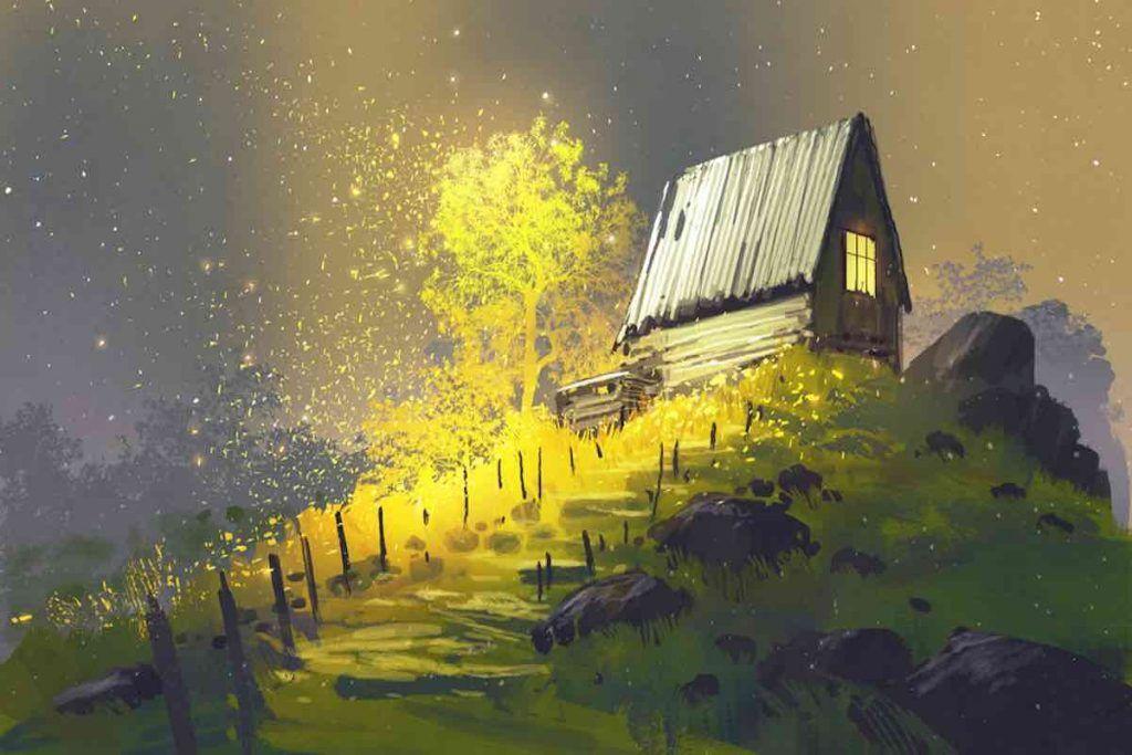petite maison parabole