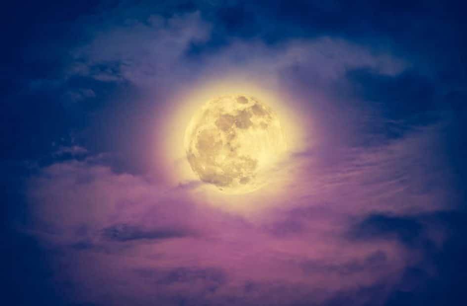 pleine lune du 3 août