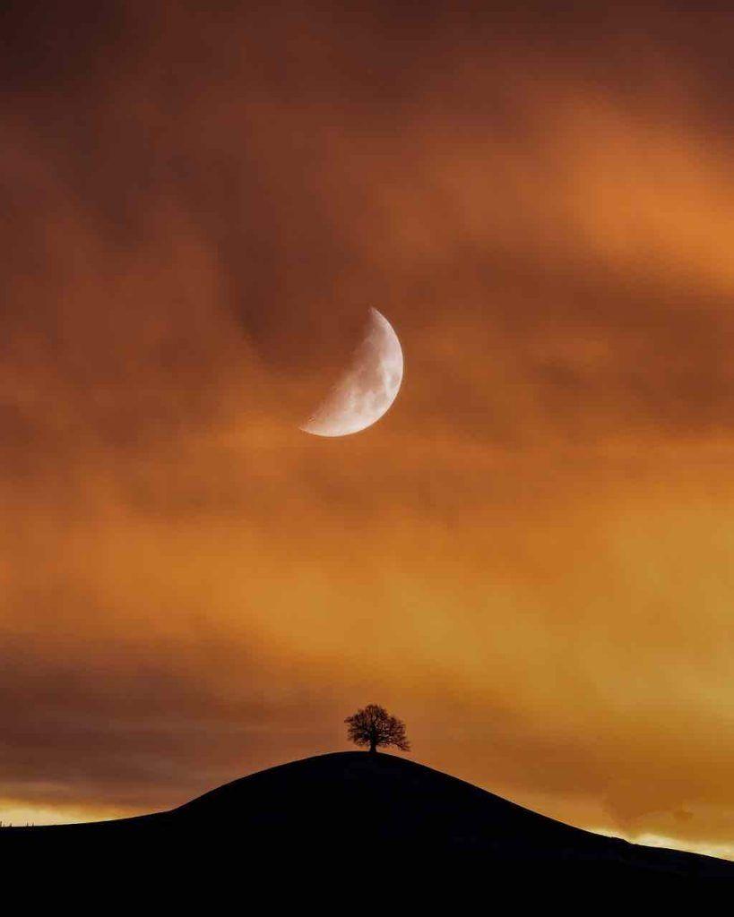 nouvelle lune d'août 2020