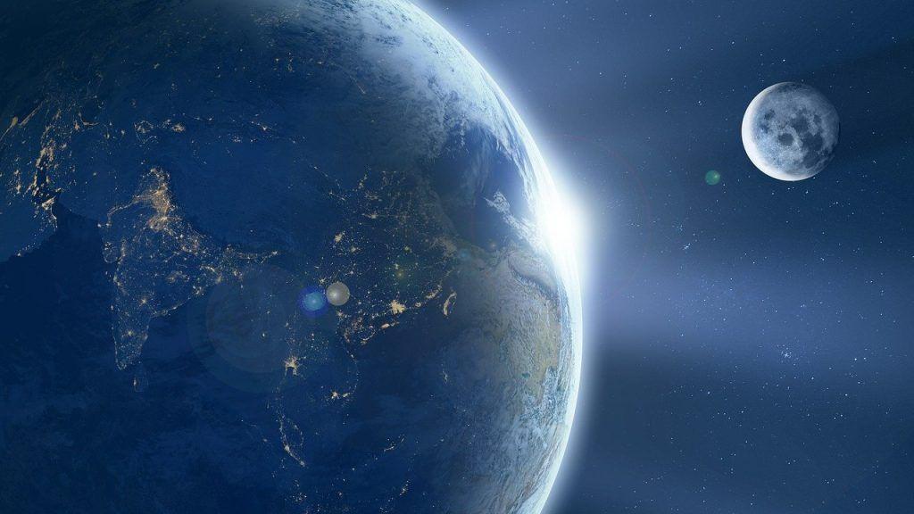 Notre belle planète bleue