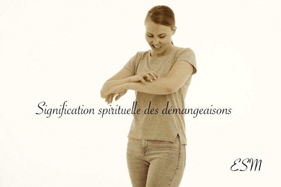 Signification spirituelle démangeaisons