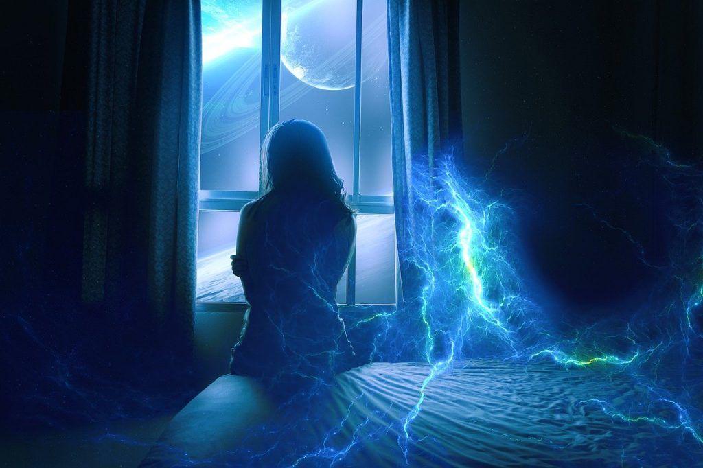 signification spirituelle couleur bleue