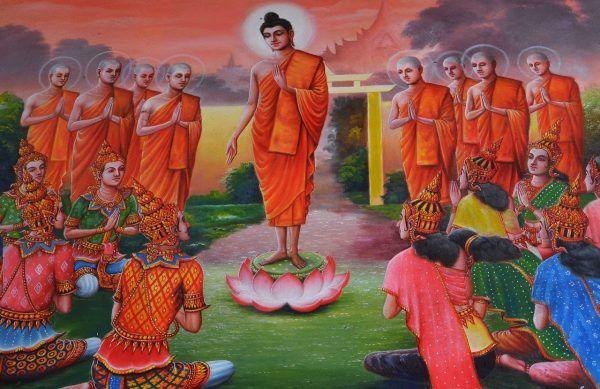 nobles vérités bouddhistes